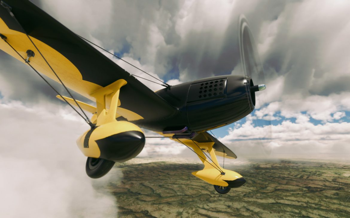 Gee Bee R3 Special MSFS 1 1