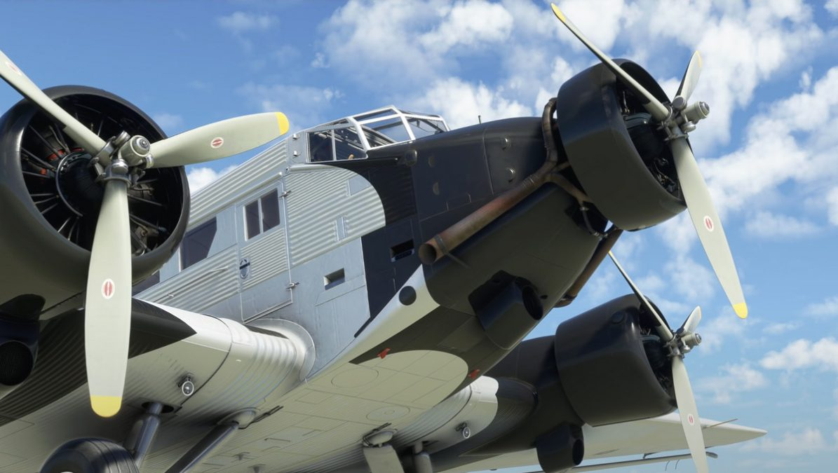 """(Update: coming September 28th) The Junkers JU-52 has been delayed """"a few weeks"""""""
