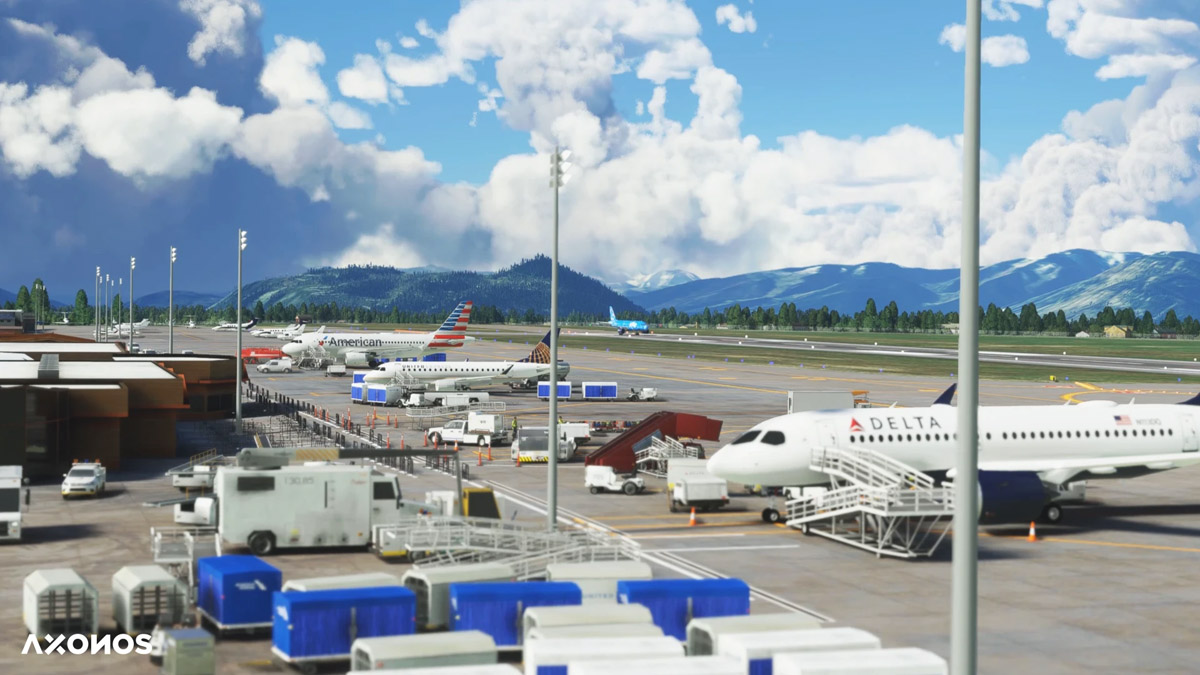 Axonos releases Jackson Hole Airport for MSFS, a stunning spot in the Grand Tetons