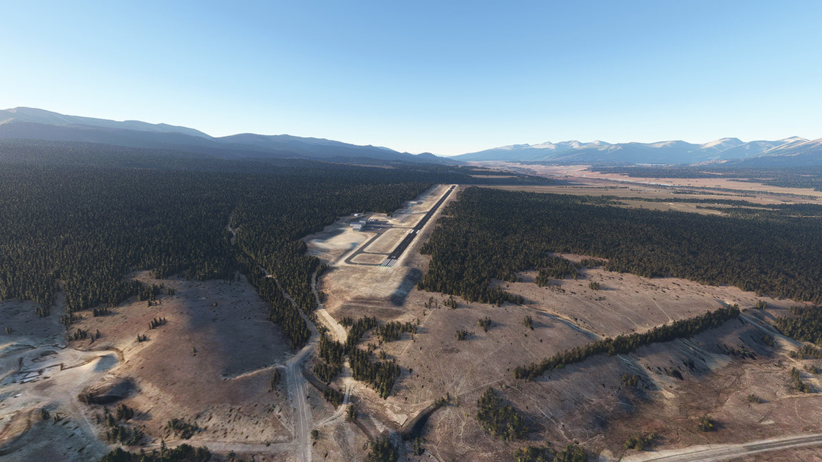 4Simmers releases Lake County Airport for MSFS, the highest in North America