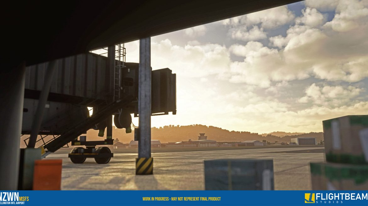 NZWN Wellington Airport MSFS 4