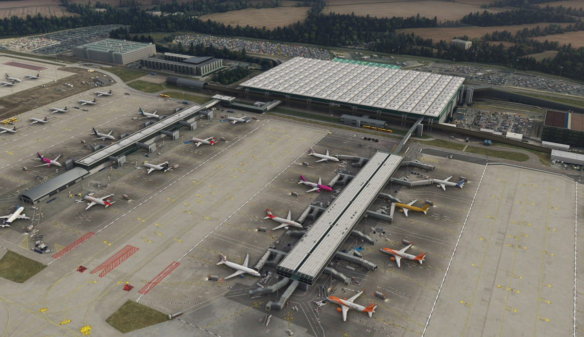 Stansted Airport MSFS 2