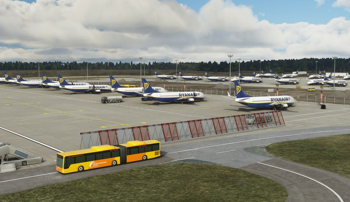 Stansted Airport MSFS 4