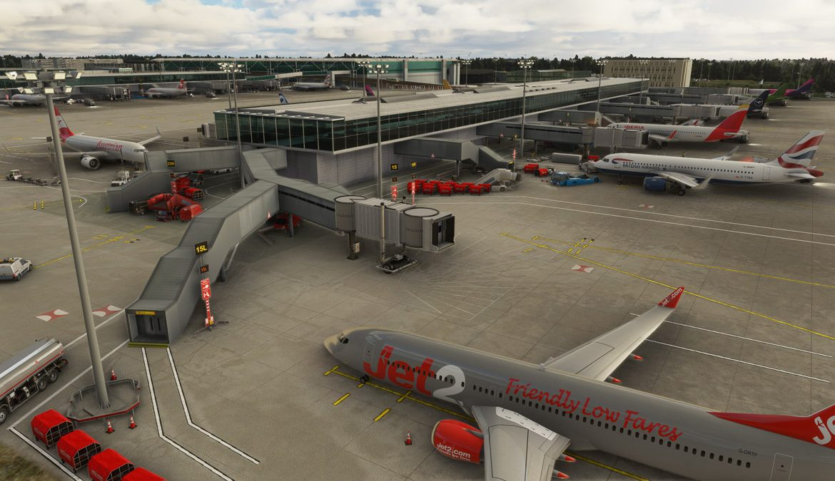 Stansted Airport MSFS 7