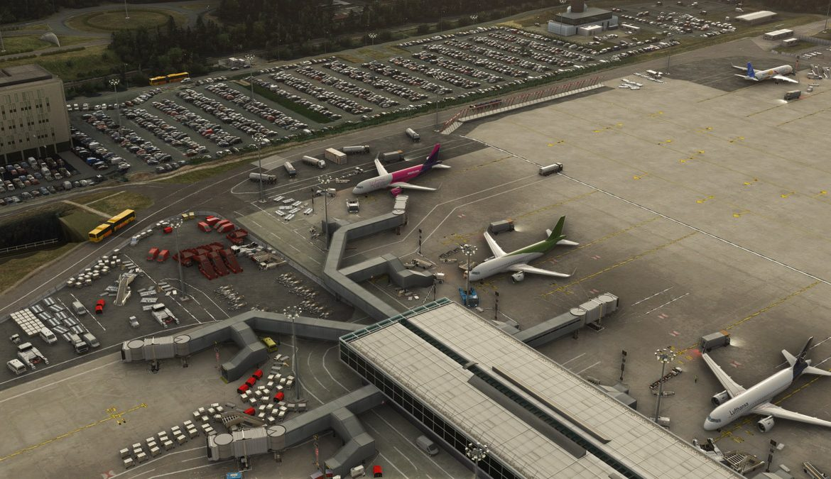 Stansted Airport MSFS 8