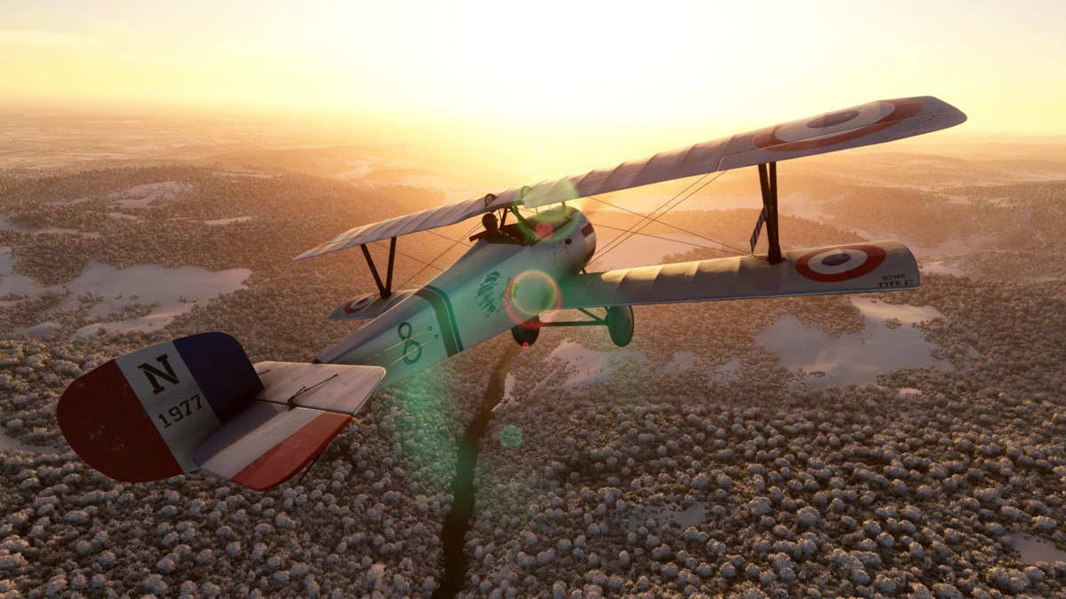 A new warbird for MSFS! The Big Radials Nieuport 17 is now available
