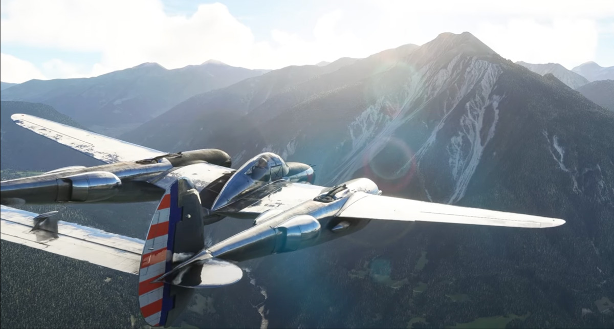 FlyingIron Simulations launching the P-38L Lightning for MSFS this month