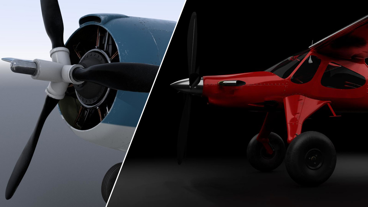 Got Friends reveals two new airplanes for MSFS: Mike Patey's Draco and the Grumman F4F-4