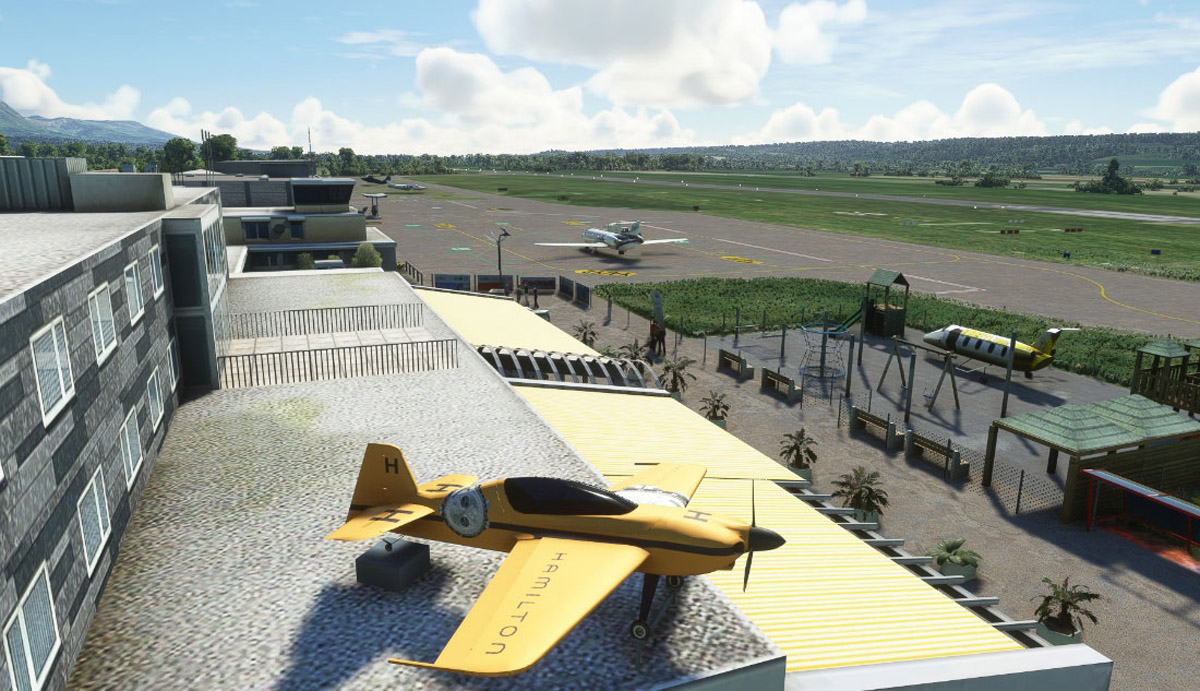 Grenchen Airport MSFS 1