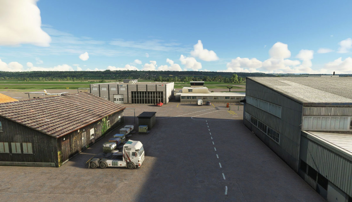 Grenchen Airport MSFS 3
