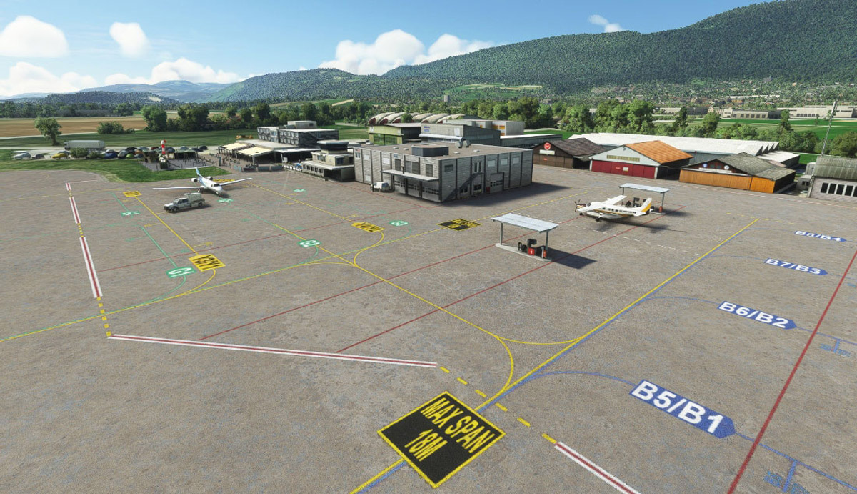 Grenchen Airport MSFS 4
