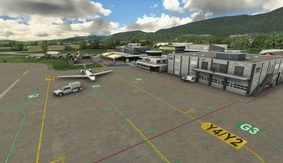 Grenchen Airport MSFS 6