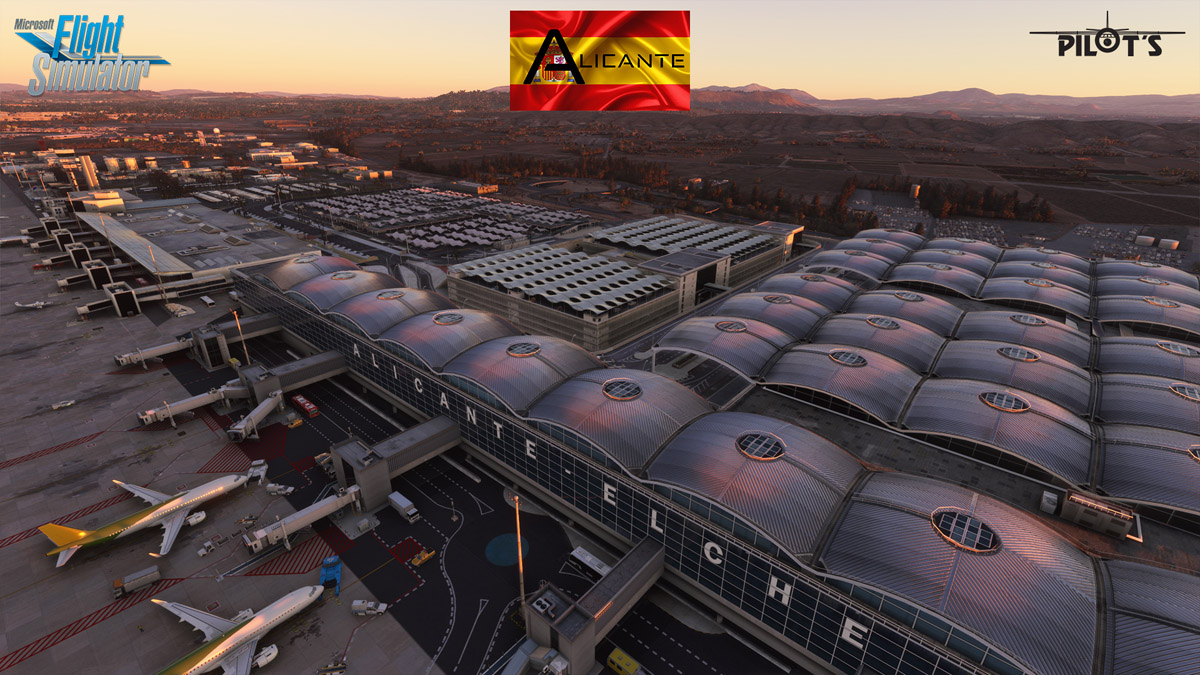 PILOT'S releases Alicante Airport for MSFS