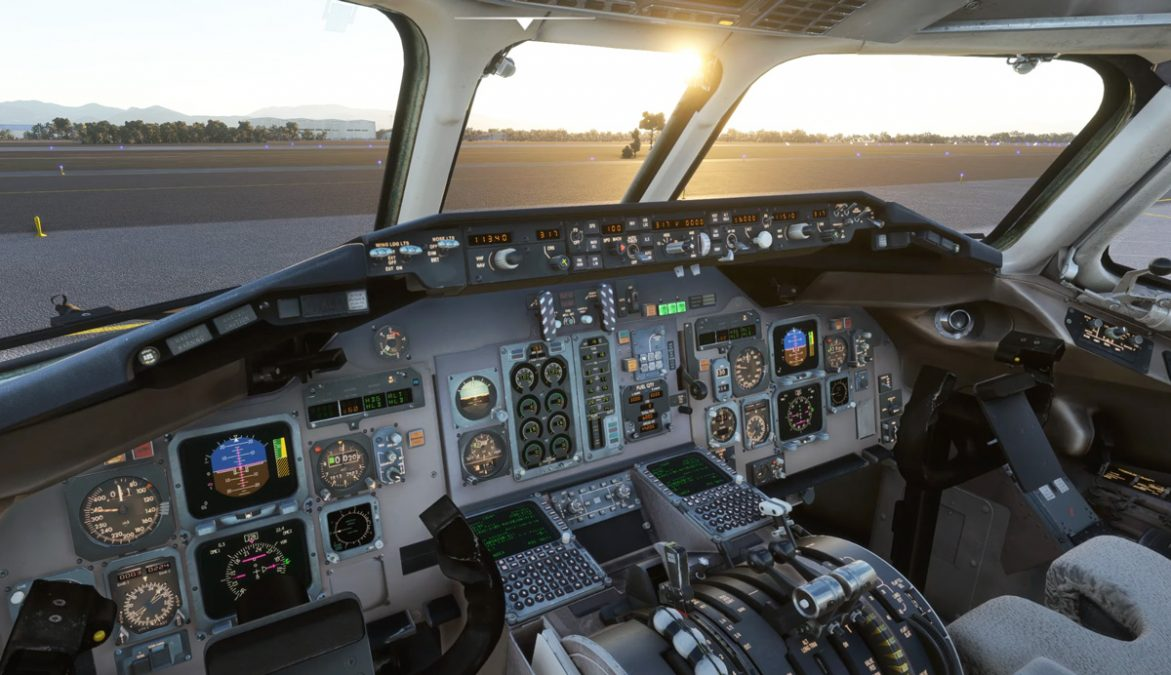 """(A second video!) Here's the first video of Leonardo's """"Fly the Maddog"""" MD-80 in MSFS"""