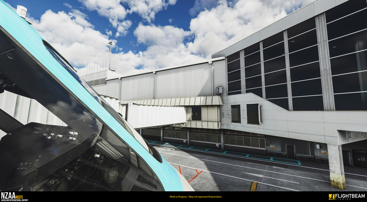 Flightbeam Studios teases incredible NZAA Auckland Airport for MSFS