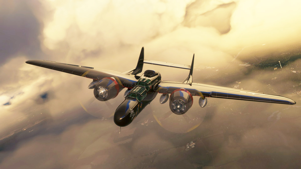 DC Designs shows first images of its P-61B Black Widow for MSFS