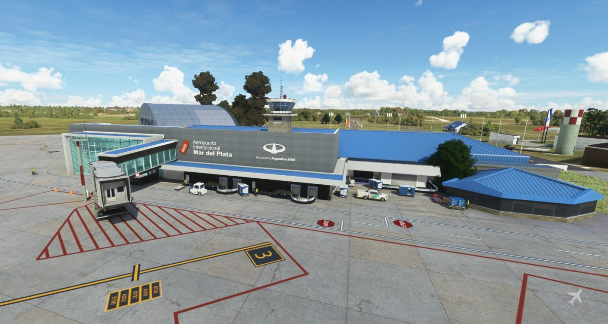 VueloSimple is developing South American airports for MSFS, starting with SAZM