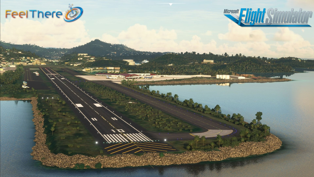 Cyril E. King Airport, in the US Virgin Islands, is now available for MSFS