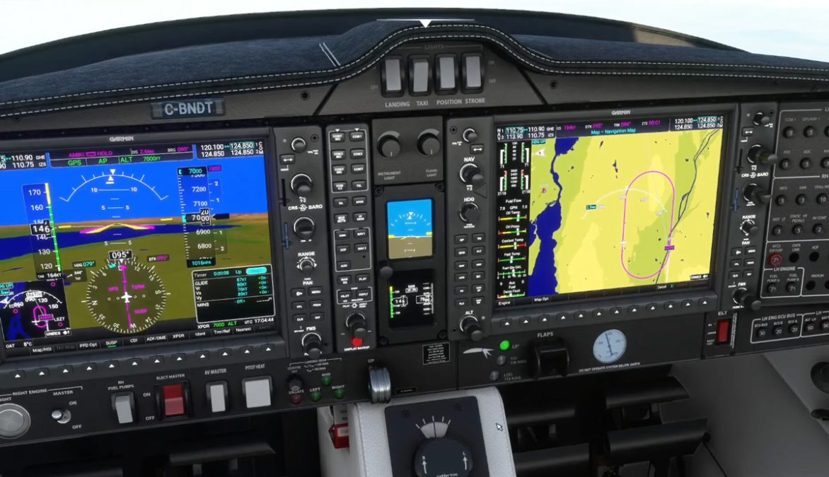 Working Title G1000 NXi updated with weather radar, improved AP, user holds, and more