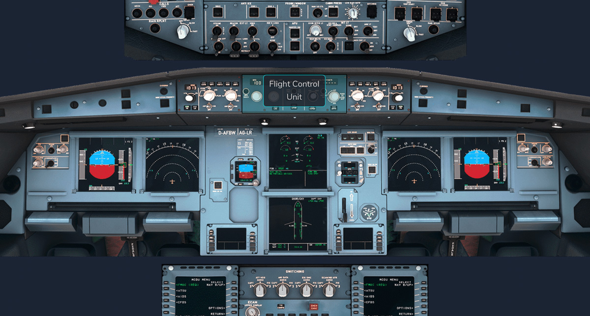 FlyByWire publishes A320neo Pilot Briefing with an interactive flight deck