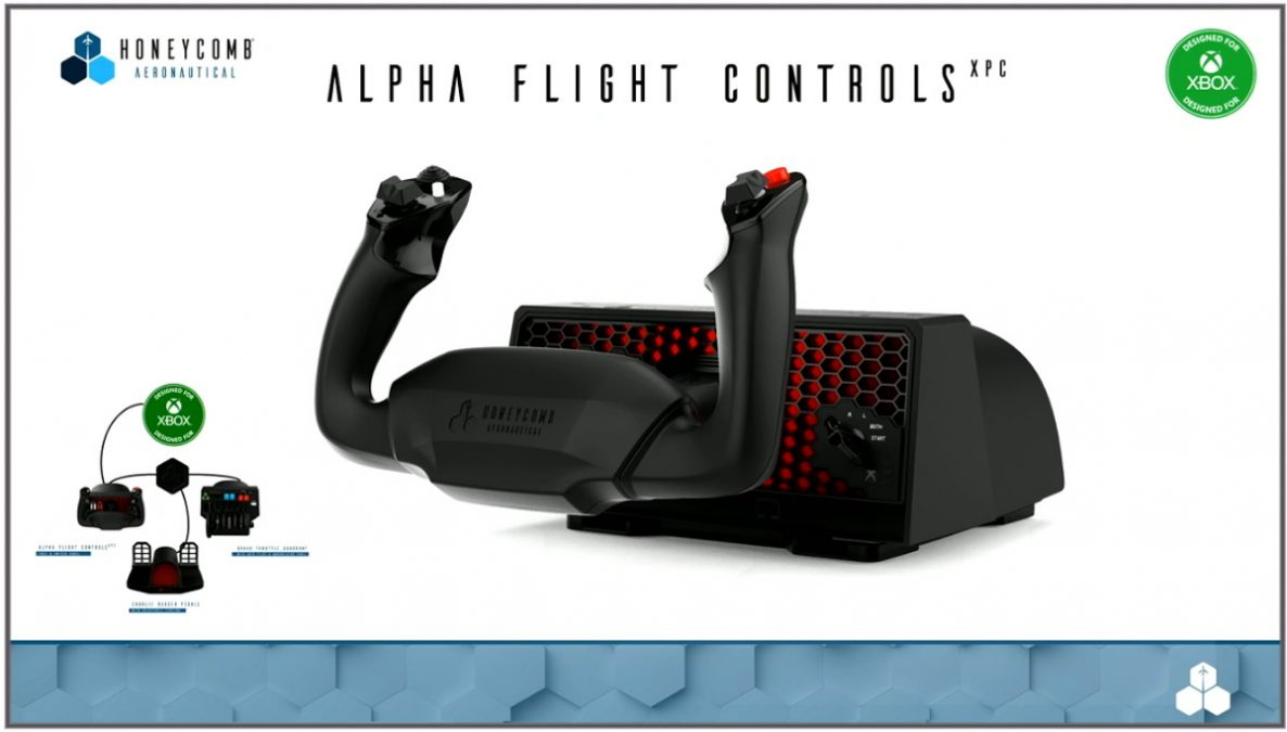 Honeycomb unveils updated Alpha Flight Controls XPC, new military hardware, and more
