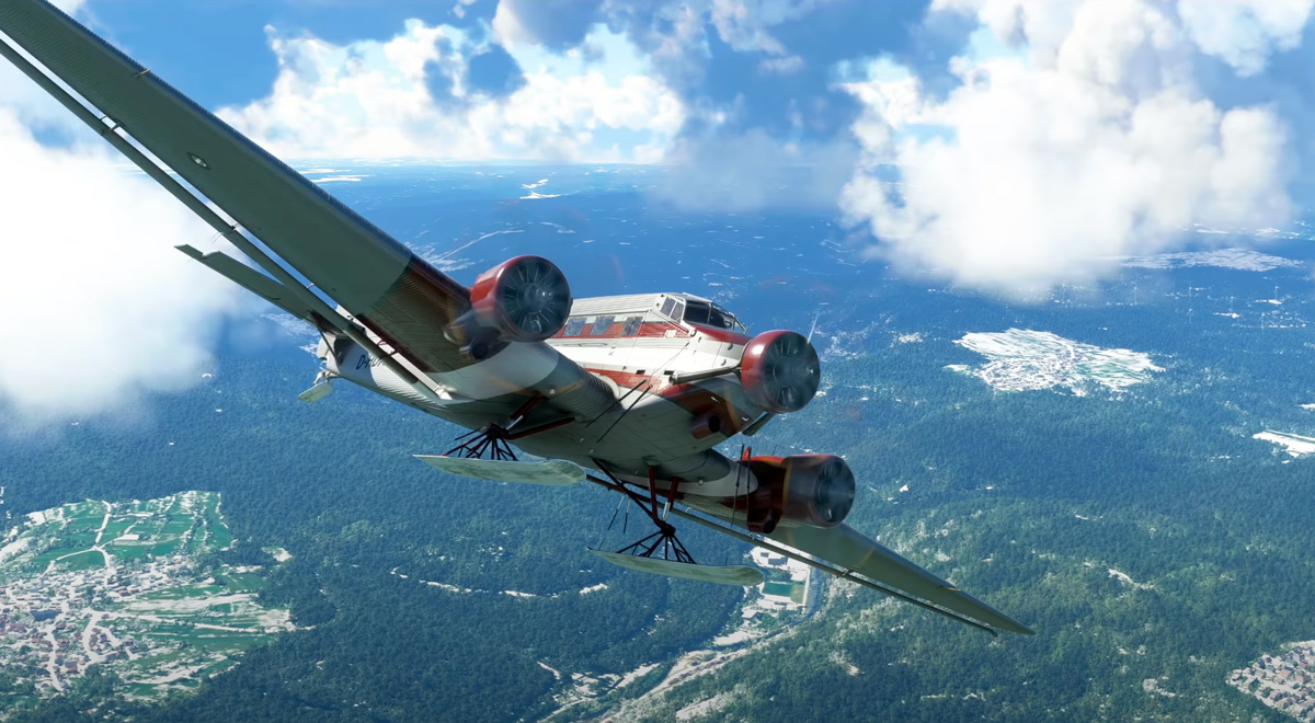 The Junkers Ju-52 is now available for Microsoft Flight Simulator