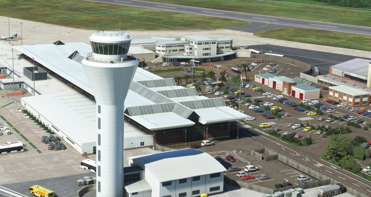EGJJ Jersey Airport is now available for MSFS, from UK2000