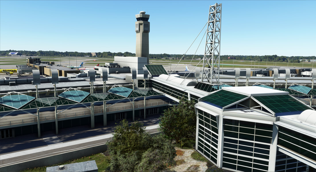 Cleveland Airport KCLE MSFS 1