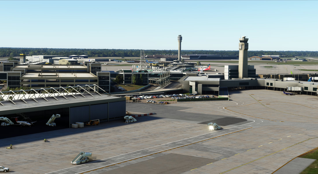Cleveland Airport KCLE MSFS 10