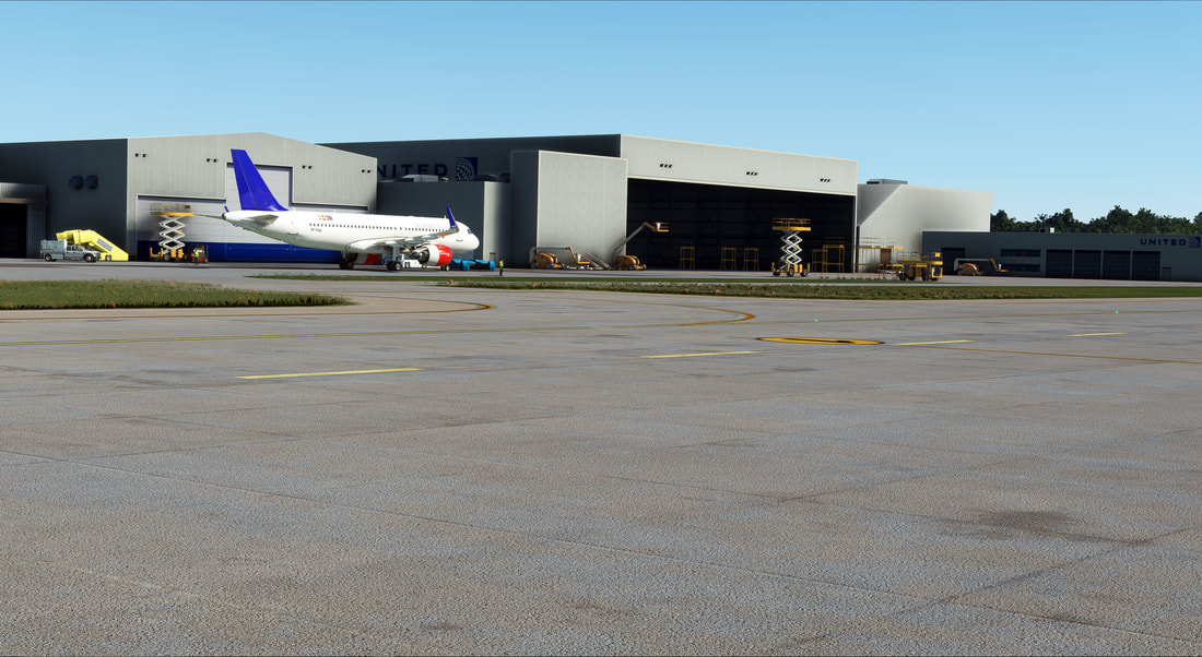 Cleveland Airport KCLE MSFS 4