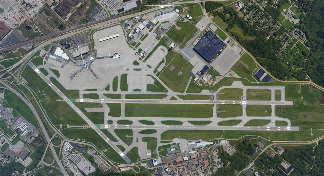 Cleveland Airport KCLE MSFS 7