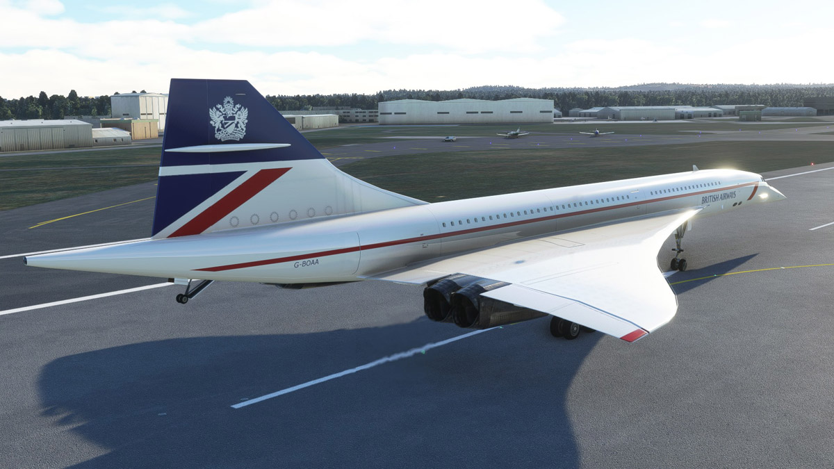 The Concorde from DC Designs is coming to Xbox