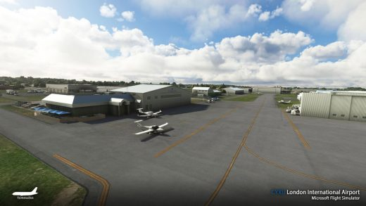 London Airport Canada MSFS 1