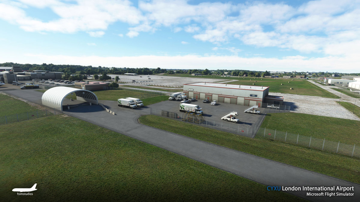 London Airport Canada MSFS 2