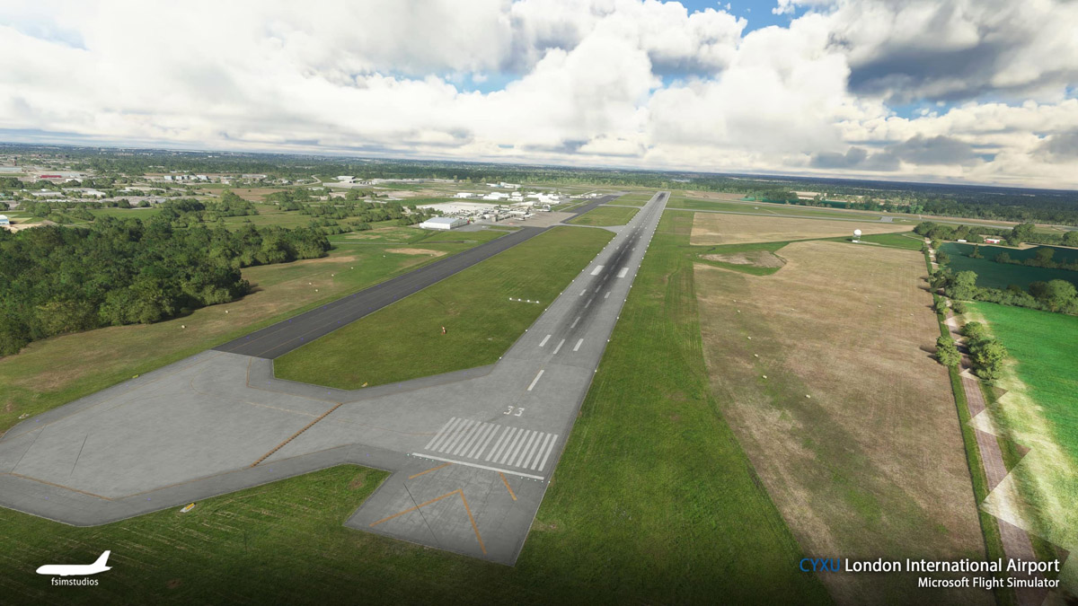 London Airport Canada MSFS 3