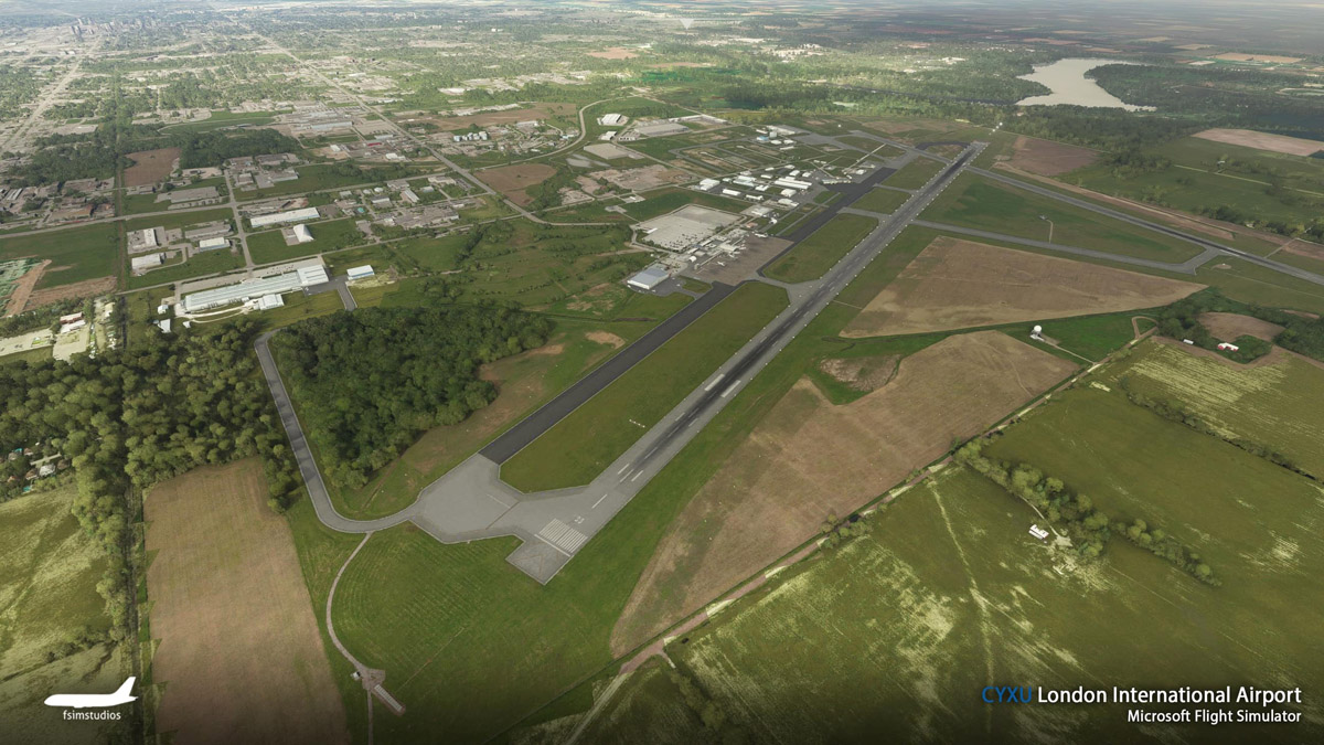 London Airport Canada MSFS 7