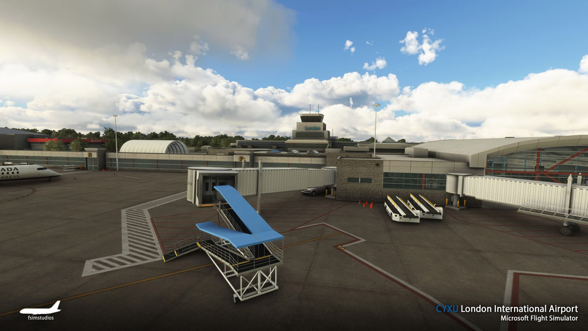 London Airport Canada MSFS 9