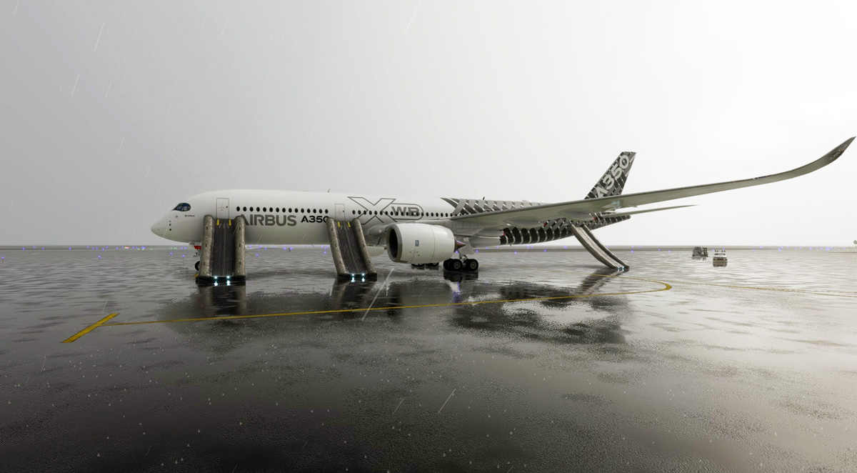 A first look into the Digital Flight Dynamics A350 for MSFS