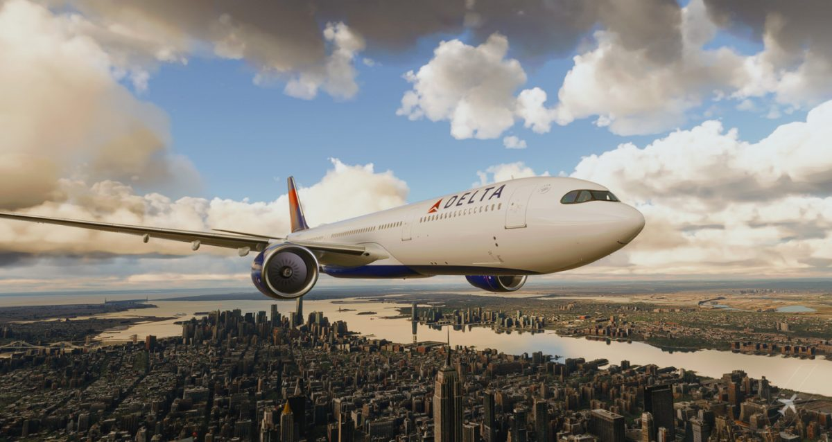 A new freeware Airbus A330 is now available for MSFS