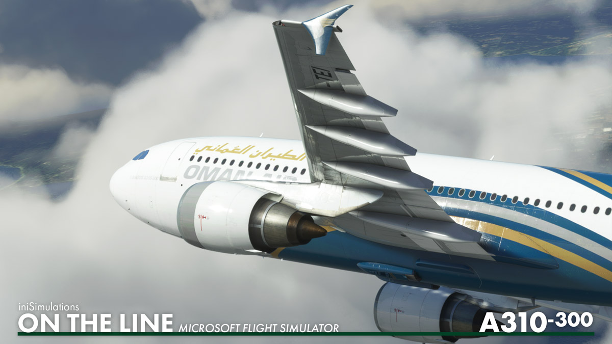 iniBuilds announces development of its A310-300 for MSFS