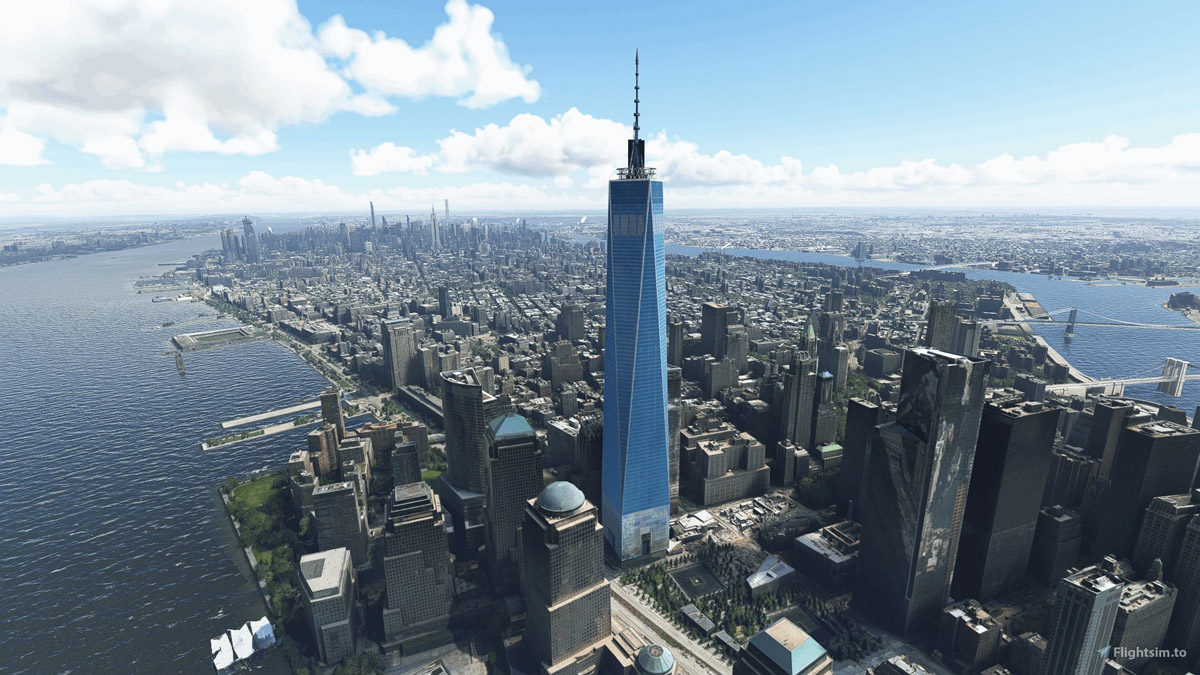 Visit New York City with this freeware Landmarks pack for MSFS