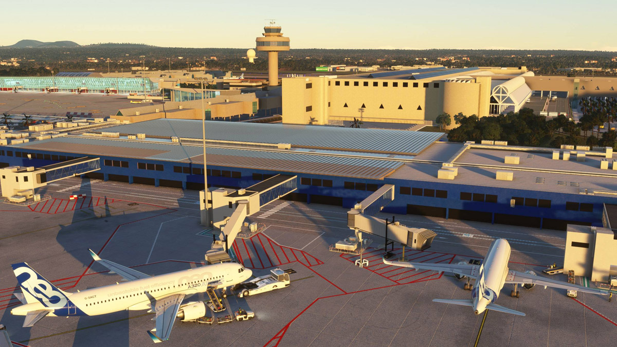 Palma De Mallorca Airport is now available for MSFS