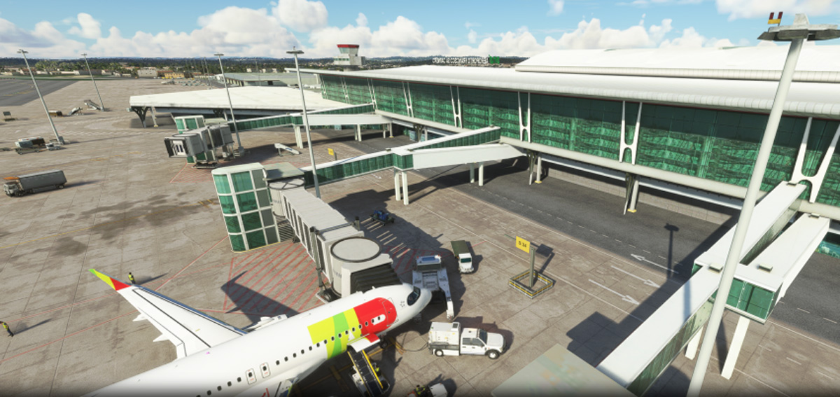 TropicalSim releases Porto Airport for MSFS