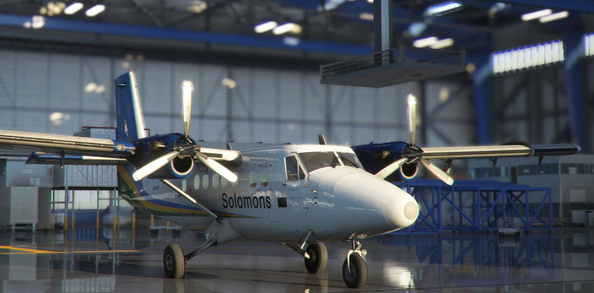 See here the latest images of the Twin Otter from Aerosoft